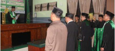 KPA Kisaran Lantik Wakil Ketua, Hakim, Panitera dan Panitera Muda Hukum