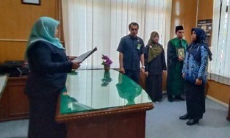 Tepat Setahun Di Pengadilan Agama Kisaran, Hari ini Juliya Masrani Dilantik Jadi PNS