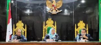 Pimpin Rapat Perdana di Pengadilan Agama Kisaran, Ini Pesan Ketua Yang Baru