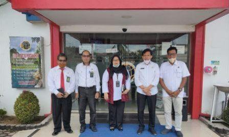 Kunjungan Silaturrahmi Ketua Pengadilan Agama  Kisaran ke Kantor ATR/BPN Kantah Cabang Asahan