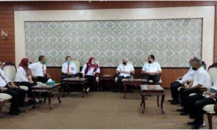 Kunjungan Ketua Pengadilan Agama Kisaran Diterima Baik Bupati Asahan