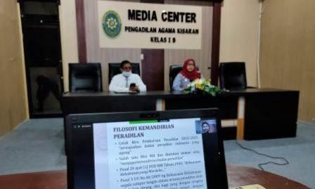 Ketua dan Wakil Ketua PA Kisaran Ikuti Seminar FGD Penelitian