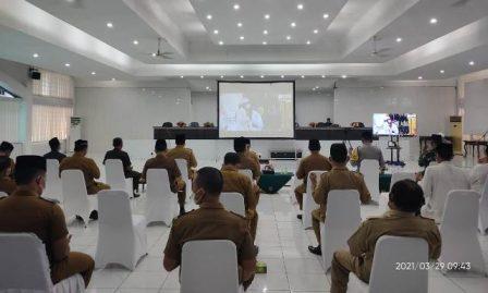 KPA Kisaran Hadiri Doa Bersama Hadapi Pandemi Covid-19
