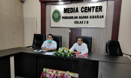Pimpinan PA Kisaran Paparkan Perkembangan Pengadaan Sarpras Layanan Disabilitas