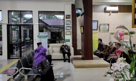Kunjungan Ketua Pengadilan Tinggi Agama Medan ke Pengadilan Agama Kisaran