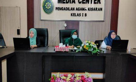 Penuhi Undangan KPTA Medan, 3 Orang Srikandi PA Kisaran Ikuti Pelatihan dan Bimbingan Asesor Internal APM PTA dan PA Tahun 2021 secara Virtual