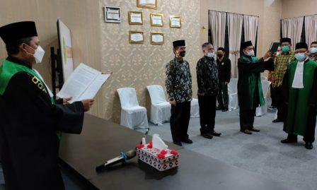 Pelantikan dan Pengambilan Sumpah Jabatan Drs. H. Rusli, S.H., M.H. sebagai Hakim Pengadilan Agama Kisaran