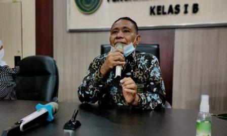 Drs. Ahmadi Yakin Siregar, S.H. Jadi Pemateri Bintal di PA Kisaran